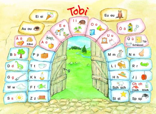Tobi - Buchstabentabelle