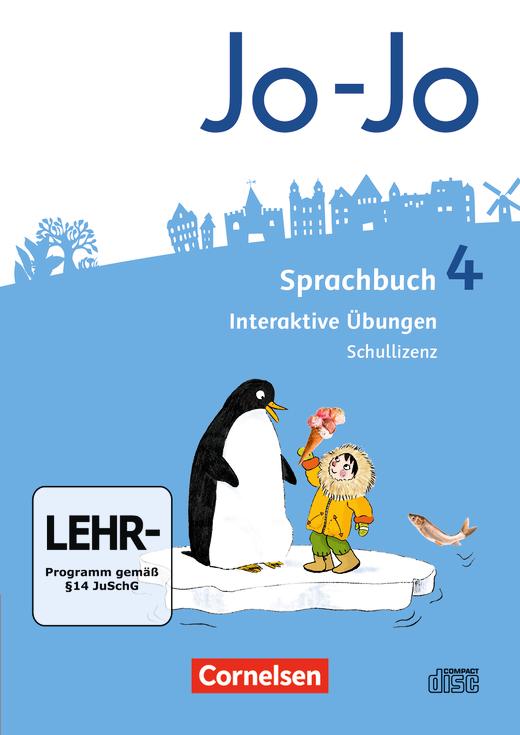 Jo-Jo Sprachbuch - Interaktive Übungen als Ergänzung zum Arbeitsheft - 4. Schuljahr