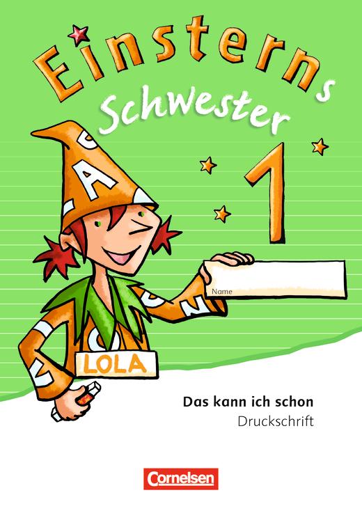 Einsterns Schwester - Druckschrift - Lernbegleiter (10er-Pack) - 1. Schuljahr