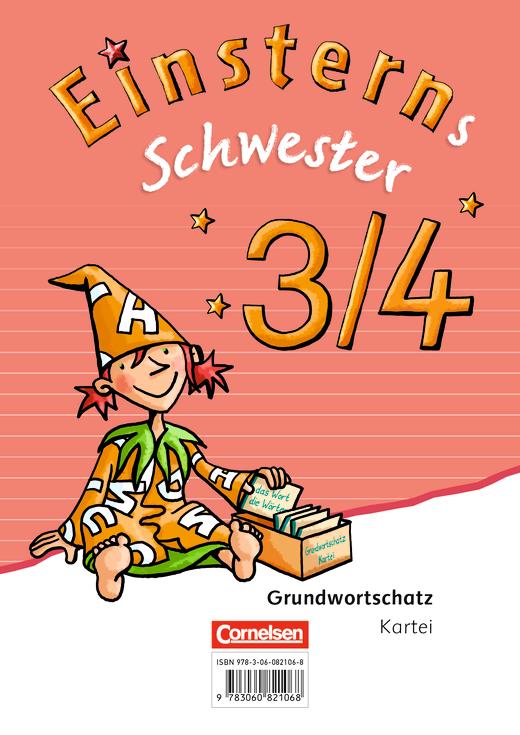 Einsterns Schwester - Wörterkartei mit Grundwortschatz 3/4 - 3./4. Schuljahr