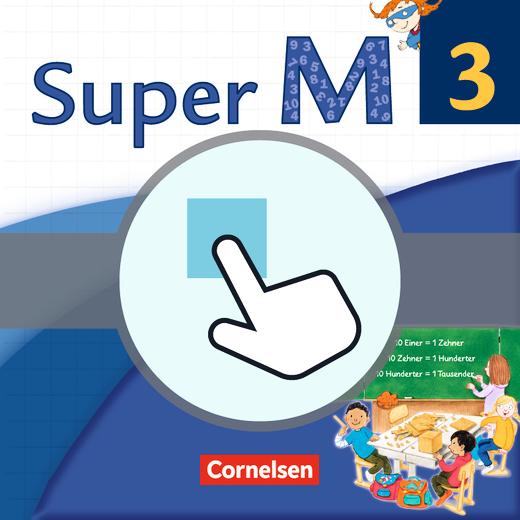 Super M - Interaktive Übungen als Ergänzung zum Arbeitsheft - 3. Schuljahr