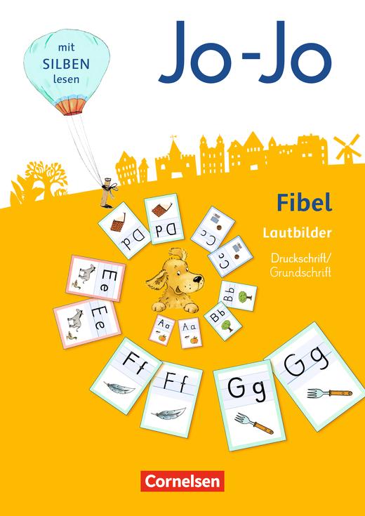 Jo-Jo Fibel - Wendelautbilder Druckschrift/Grundschrift