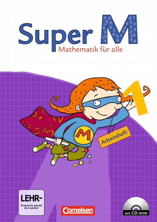 Super M - Arbeitsheft mit CD-ROM - 1. Schuljahr
