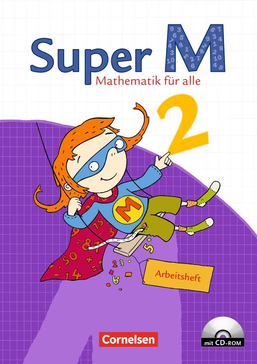 Super M - Arbeitsheft mit CD-ROM - 2. Schuljahr