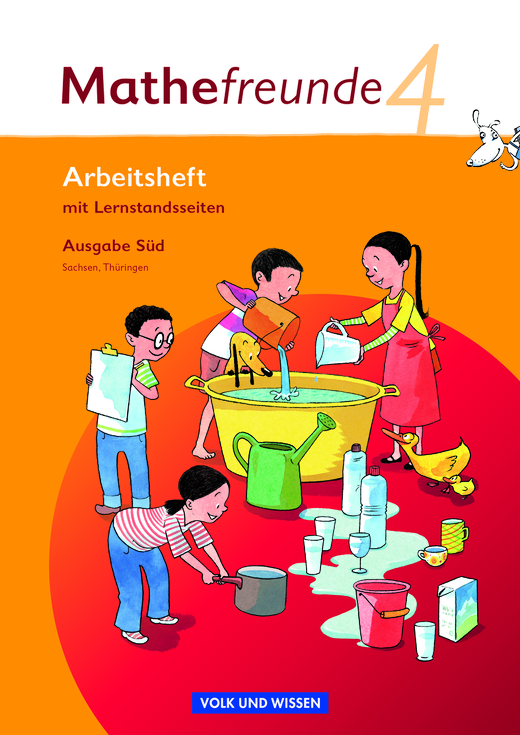 Mathefreunde - Arbeitsheft - 4. Schuljahr