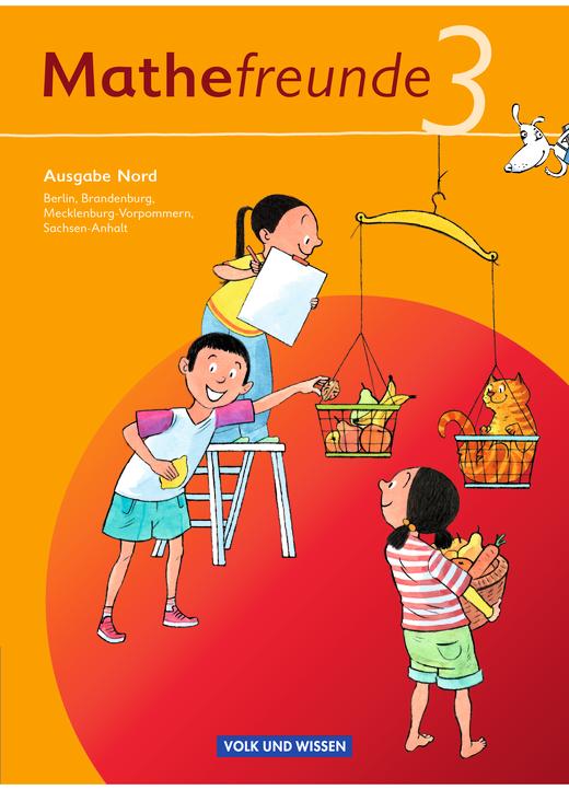 Mathefreunde - Schülerbuch mit Kartonbeilagen - 3. Schuljahr
