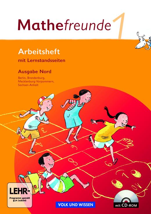 Mathefreunde - Arbeitsheft mit CD-ROM - 1. Schuljahr