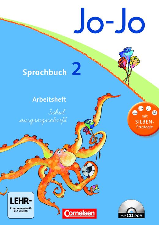 Jo-Jo Sprachbuch - Arbeitsheft in Schulausgangsschrift - 2. Schuljahr