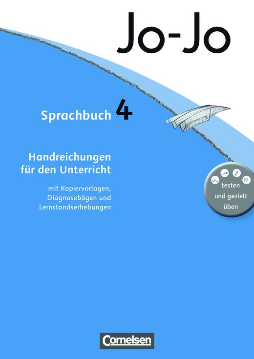 Jo-Jo Sprachbuch - Handreichungen für den Unterricht - 4. Schuljahr