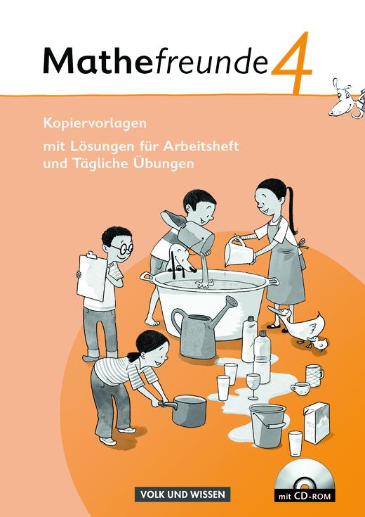 Mathefreunde - Kopiervorlagen mit CD-ROM - 4. Schuljahr