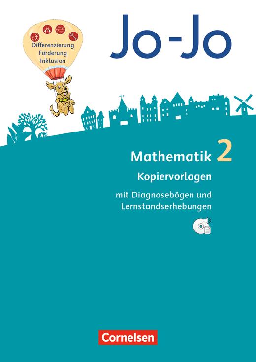 Jo-Jo Mathematik - Kopiervorlagen mit CD-ROM - 2. Schuljahr