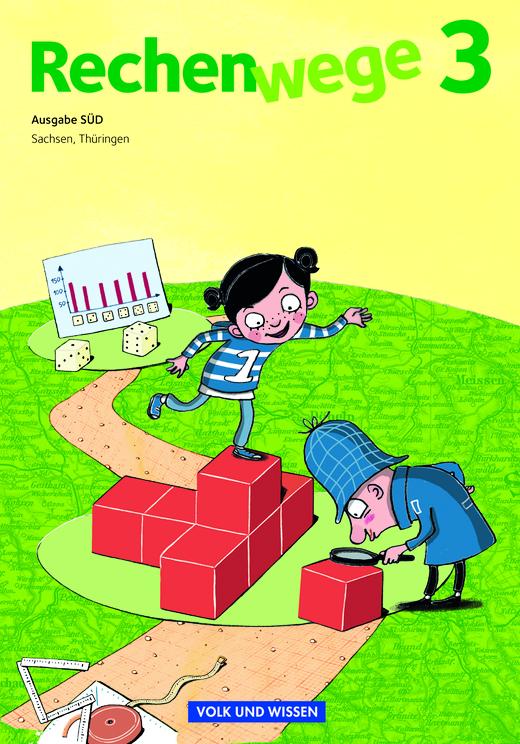 Rechenwege - Schülerbuch mit Kartonbeilagen - 3. Schuljahr