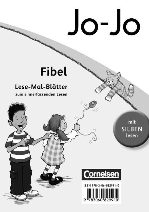Jo-Jo Fibel - Lese-Mal-Blätter
