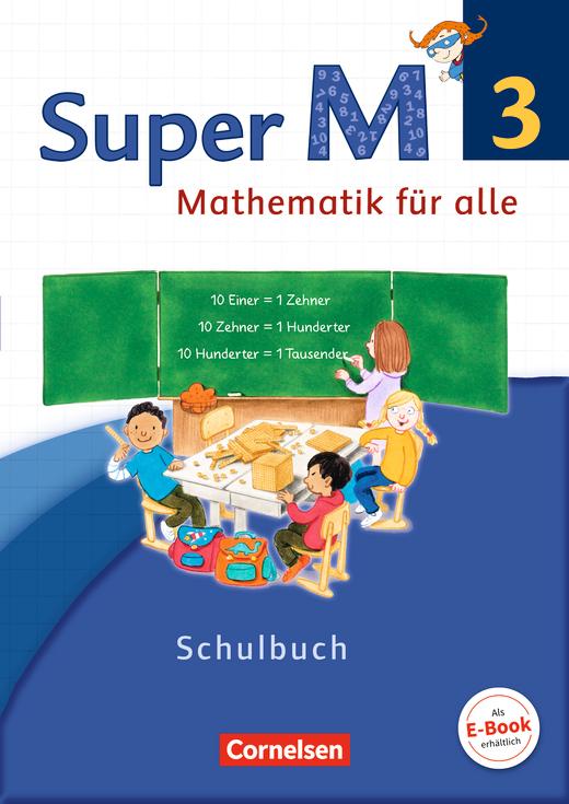 Super M - Schülerbuch mit Kartonbeilagen - 3. Schuljahr