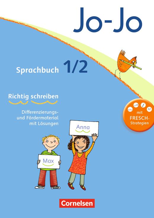 Jo-Jo Sprachbuch - FRESCH-Arbeitsblock - 1./2. Schuljahr