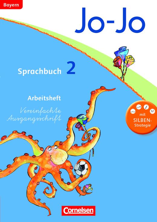 Jo-Jo Sprachbuch - Arbeitsheft in Vereinfachter Ausgangsschrift - 2. Jahrgangsstufe