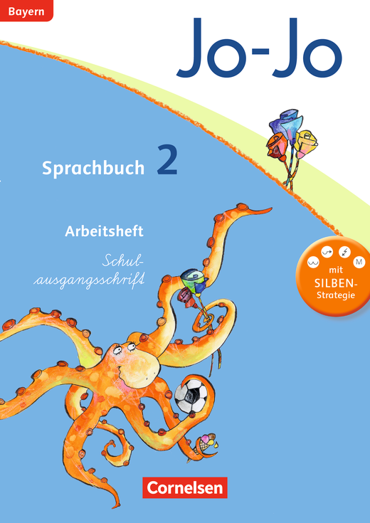 Jo-Jo Sprachbuch - Arbeitsheft in Schulausgangsschrift - 2. Jahrgangsstufe