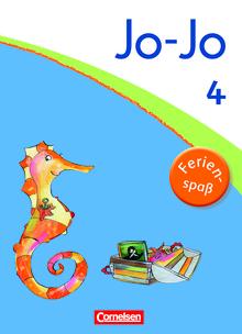 Jo-Jo Sprachbuch - Ferienspaß mit Jo-Jo - Übungsheft - 4. Schuljahr