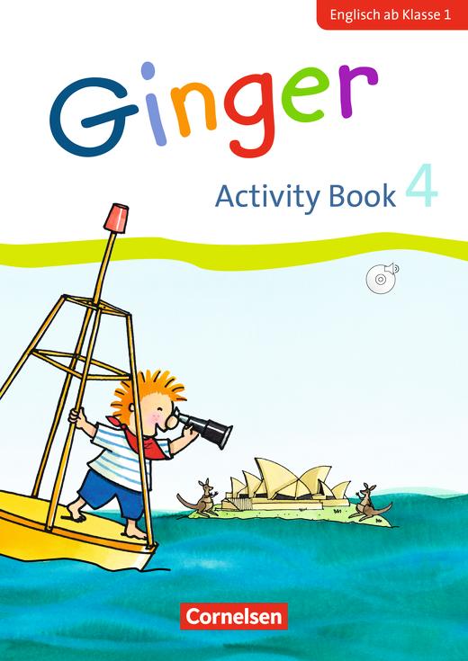 Ginger - Activity Book - 4. Schuljahr