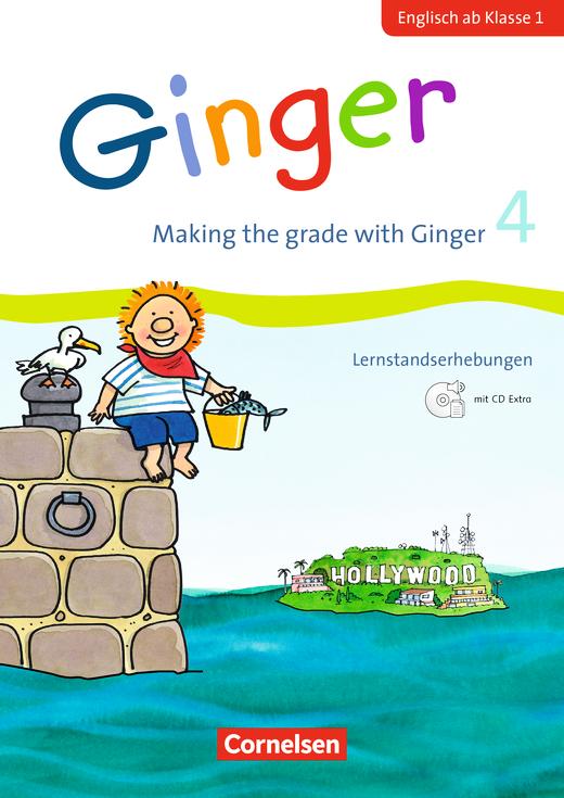 Ginger - Making the grade with Ginger - Lernstandserhebungen mit CD-Extra - 4. Schuljahr