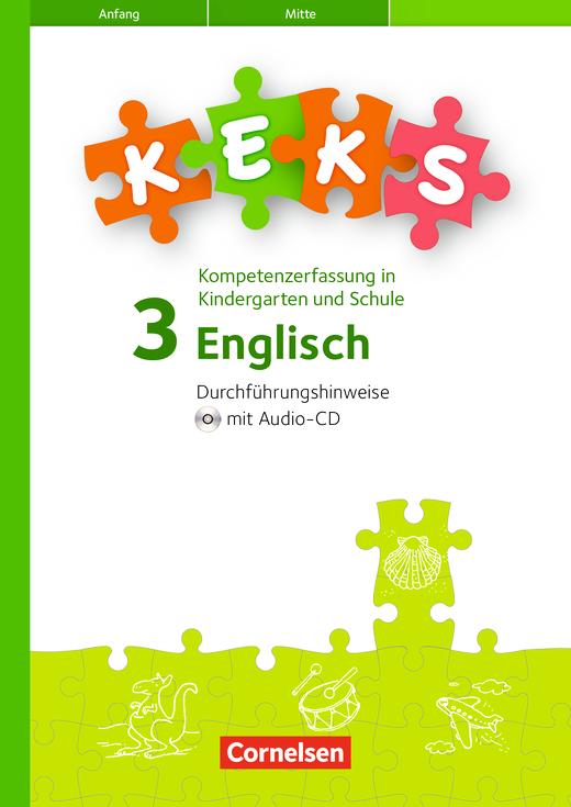 KEKS - KEKS 3 - Durchführungshinweise mit Hörverstehens-CD - 3. Schuljahr