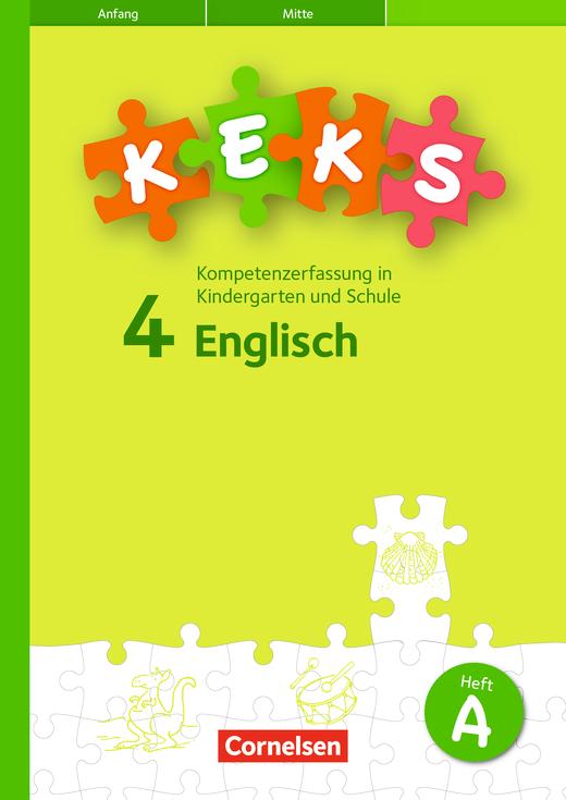 KEKS - KEKS 4 - 15 Testhefte A - 4. Schuljahr