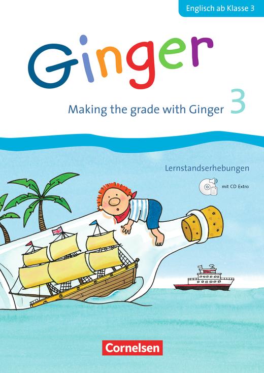 Ginger - Making the grade with Ginger - Lernstandserhebungen mit CD-Extra - 3. Schuljahr