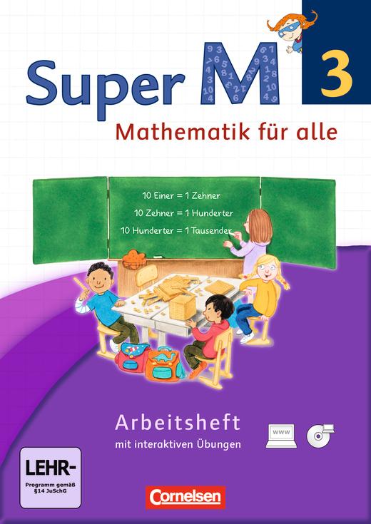 Super M - Arbeitsheft mit interaktiven Übungen auf scook.de - 3. Schuljahr