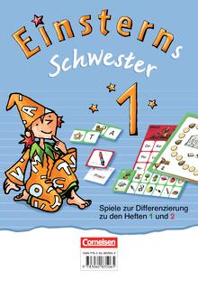 Einsterns Schwester - Spiele zur Differenzierung zu den Heften 1 und 2 - 1. Schuljahr