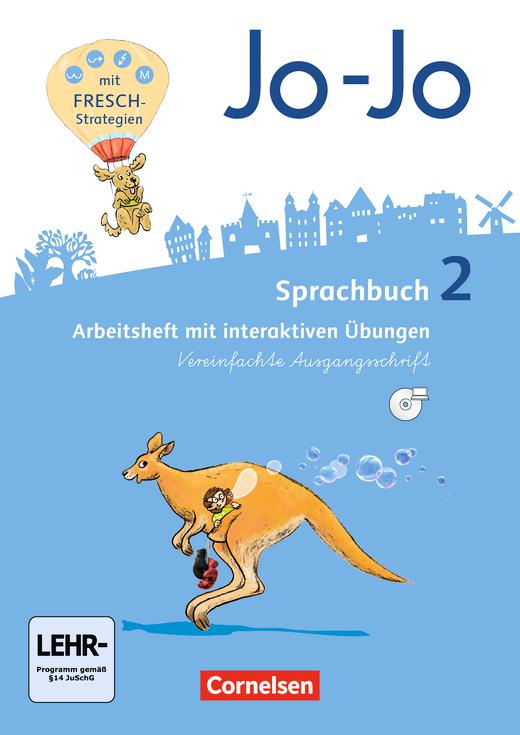 Jo-Jo Sprachbuch - Arbeitsheft in Vereinfachter Ausgangsschrift - 2. Schuljahr