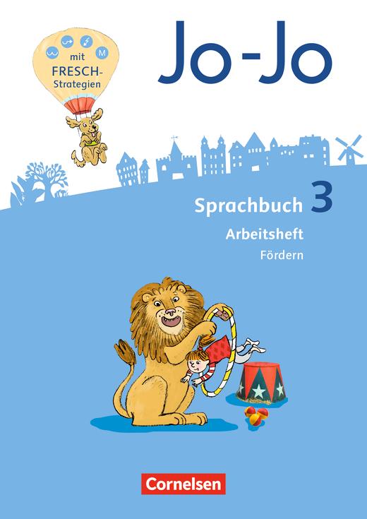 Jo-Jo Sprachbuch - Arbeitsheft Fördern - 3. Schuljahr