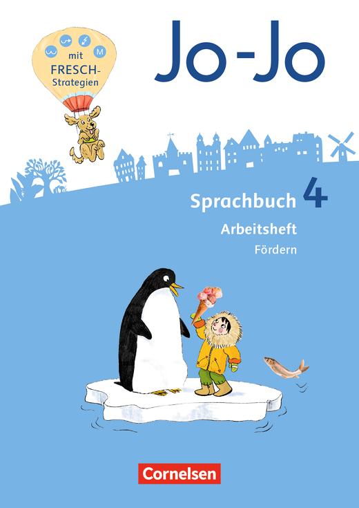 Jo-Jo Sprachbuch - Arbeitsheft Fördern - 4. Schuljahr