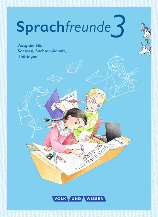 Sprachfreunde - Sprachbuch mit Grammatiktafel und Lernentwicklungsheft - 3. Schuljahr