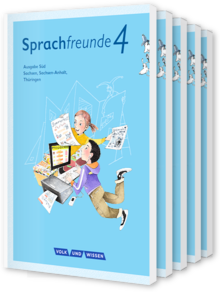 Sprachfreunde - Ausgabe Süd (Sachsen, Sachsen-Anhalt, Thüringen) - Neubearbeitung 2015