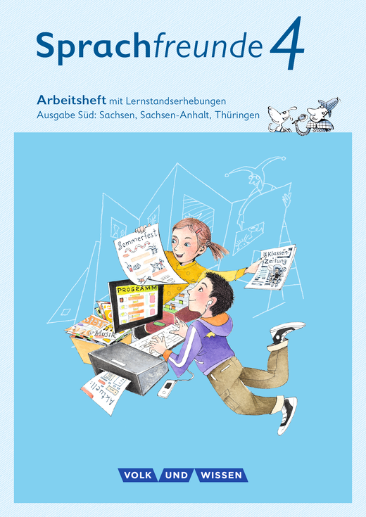 Sprachfreunde - Arbeitsheft - 4. Schuljahr