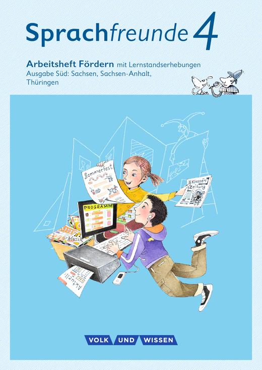 Sprachfreunde - Arbeitsheft Fördern - 4. Schuljahr