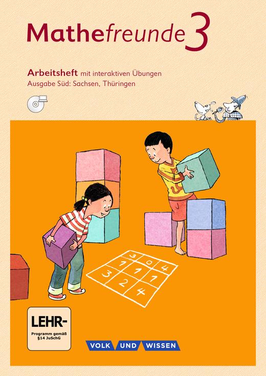 Mathefreunde - Arbeitsheft mit interaktiven Übungen auf scook.de - 3. Schuljahr