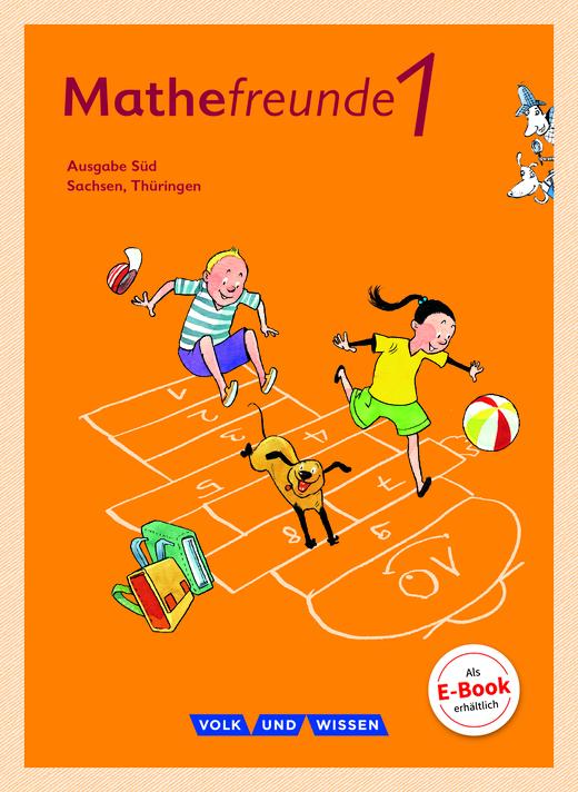 Mathefreunde - Schülerbuch mit Kartonbeilagen - 1. Schuljahr