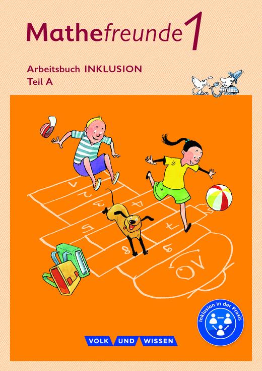 Mathefreunde - Arbeitsbuch Inklusion - Teil A und B - 1. Schuljahr