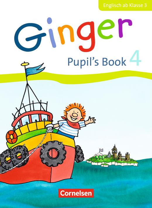 Ginger - Pupil's Book - 4. Schuljahr