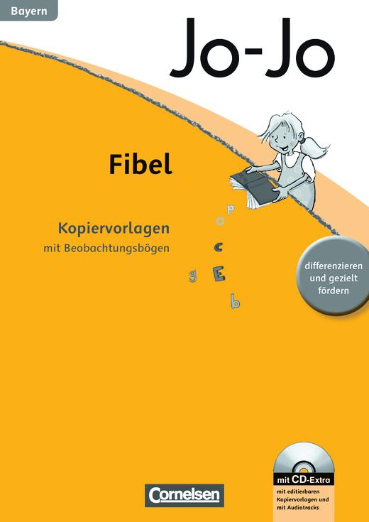 Jo-Jo Fibel - Kopiervorlagen mit Beobachtungsbögen und CD-ROM