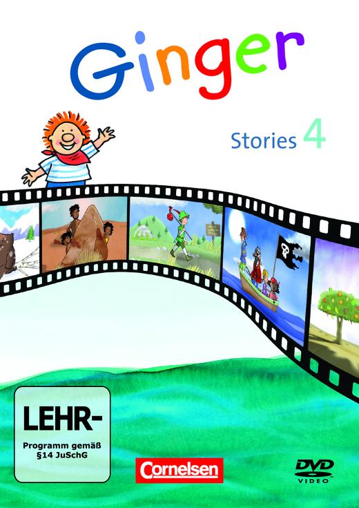 Ginger - Ginger Stories - Video-DVD - 4. Schuljahr