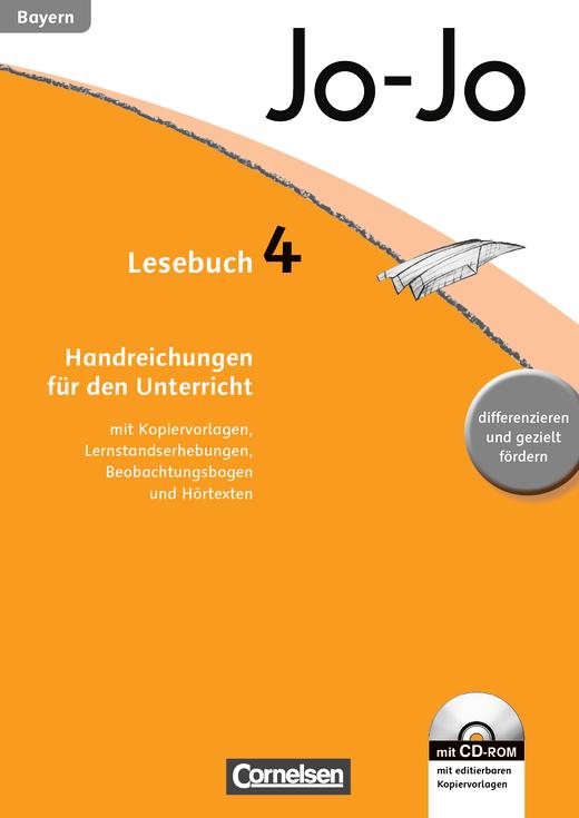 Jo-Jo Lesebuch - Handreichungen für den Unterricht, Kopiervorlagen mit CD-ROM - 4. Jahrgangsstufe
