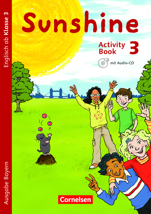 Sunshine - Activity Book - 3. Jahrgangsstufe