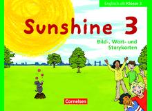 Sunshine - Bild-, Wort- und Storykarten - 3. Schuljahr