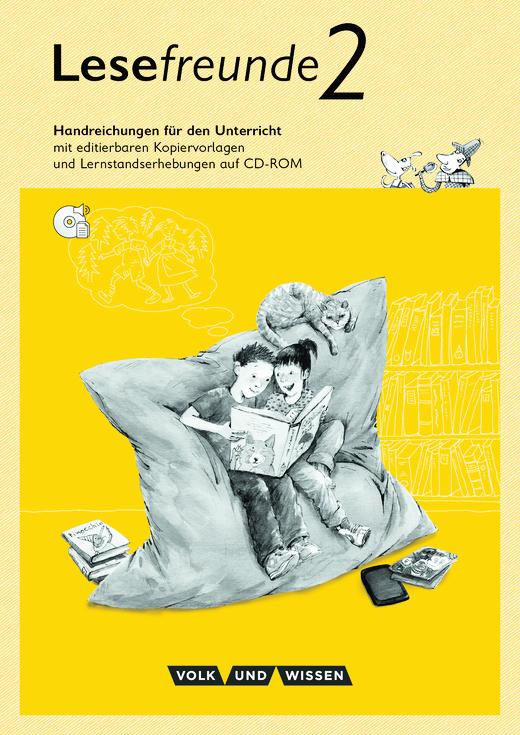 Lesefreunde - Handreichungen für den Unterricht mit CD-ROM - 2. Schuljahr