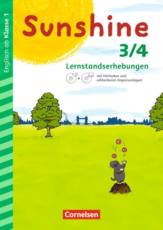 Sunshine - Lernstandserhebungen mit CD-Extra - 3./4. Schuljahr