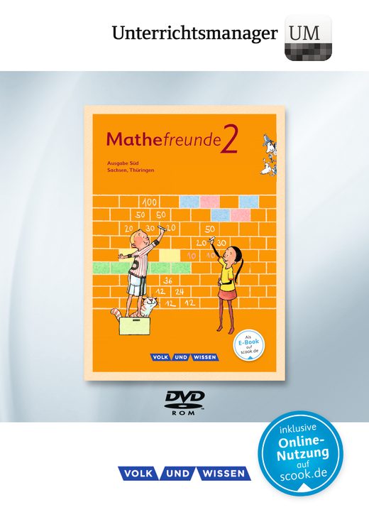 Mathefreunde - Unterrichtsmanager - Vollversion auf DVD-ROM - 2. Schuljahr