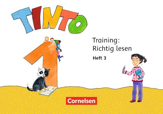 Tinto 1 - Training: Richtig lesen - 1. Schuljahr