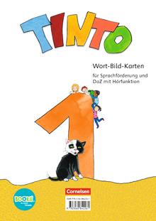 Tinto 1 - Wort-Bild-Karten zur Sprachförderung - 1. Schuljahr